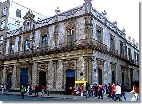 Casa de los azulejos in mexiko stadt - Azulejos zapata ...